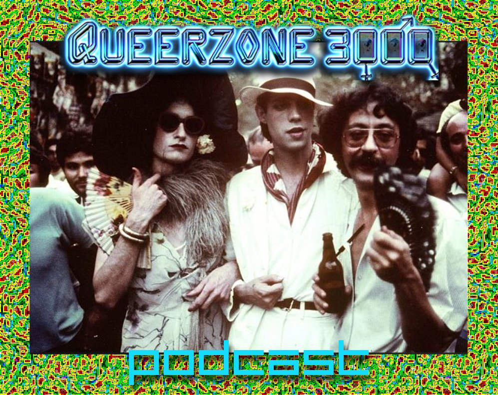 Queerzone Podcast Logo 006