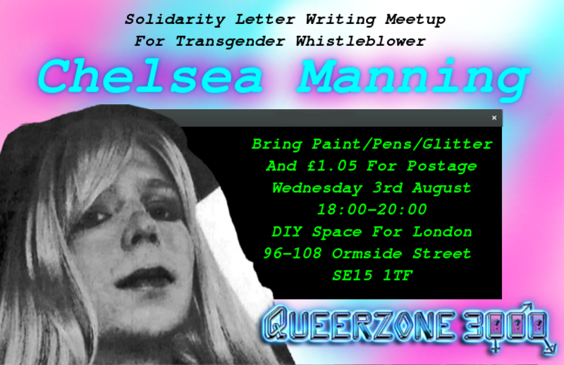Chelsea Manning DIY Space For London