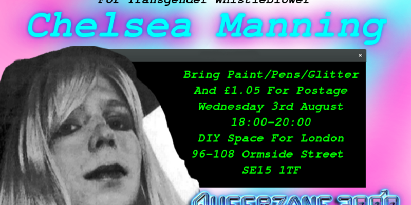 Chelsea Manning Letter Writing Meet up