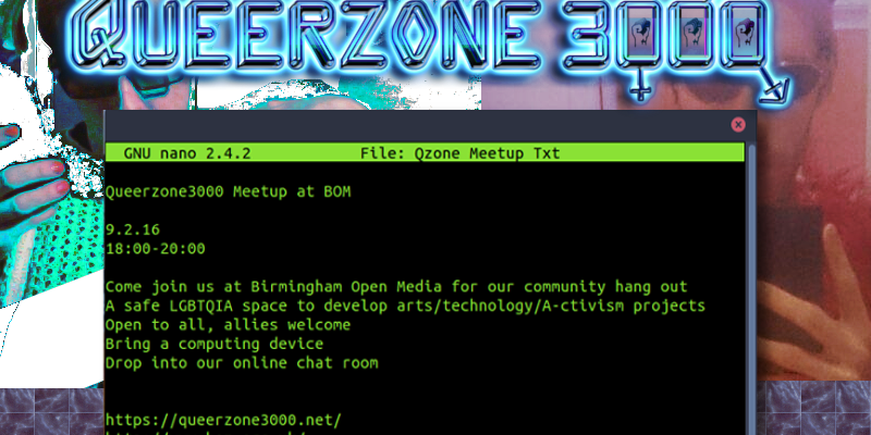 Queerzone3000 Meetup @ BOM